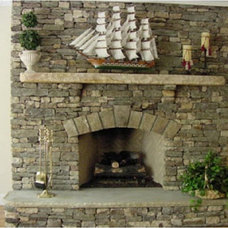Traditional Living Room by FireRock Products