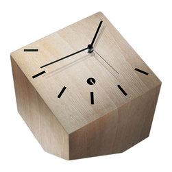 Modo Bath - Tothora Box 20 Beech Table Clock - Box 20 Beech Table Clock