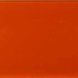 "Euro Glass - Orange Burst -sold by the box 3"" x 6"" Orange Crystile Random Glossy Glass - Tile Size:  2 7/8"" x 5 7/8""     Box:  1.83 SQF per box-Sold by the box - 15 pieces per box      -  Our Crystile Series offers a wide range of hues to suit your mood and your style! The vibrancy and depth of our crisp smooth glass results in a unique and dramatic effect for use in both residential and commercial installations.  The Crystile Series is virtually limitless in its range of applications and is suitable for the following walls backsplashes and any area just waiting to be transformed by light and color! Our sheets of mesh-mounted glass can be used to produce and endless variety of field patterns borders and medallions. This Series is ideal for use alone or as an exquisite complement to ceramic and natural stone materials. Let creativity be your guide. Crystile tiles are are easy to clean and maintain. Our tiles will never discolor and will continue to provide a smooth and luxurious appearance for many years to come."