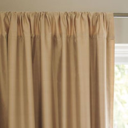 Serena & Lily - Silk Shantung Window Panel  Straw - Don't be intimidated by silk. It's a versatile fabric that can add high fashion to a room, or blend into a more casual lifestyle. Our panels deliver all the luxury silk dupioni is known for and all the beauty of its natural rawness, too. The matte finish and neutral shades make them so easy to work with.