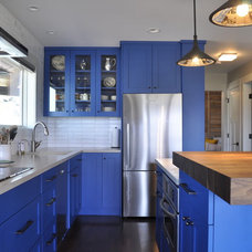 Eclectic Kitchen by Red Pepper Design & Cabinetry