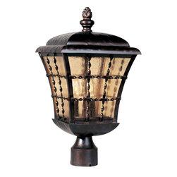 Maxim Lighting - Maxim Lighting 30490ASOI Orleans Oil Rubbed Bronze Outdoor Post Light - 3 Bulbs, Bulb Type: 60 Watt Incandescent