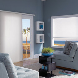 Vertical Cell/Honeycomb Shades - Vertical Honeycomb Shades : bring the energy efficiency of Cellular technology to any sized window! Starting at $132.30 only at Shades Shutters Blinds!