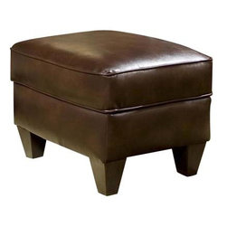 Chelsea Home Furniture - Chelsea Home Russell Ottoman in Cantina Cocoa - Russell Ottoman in Cantina Cocoa belongs to the Chelsea Home Furniture collection .