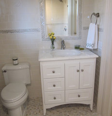 traditional bathroom by Nanette Baker of Interiors by Nanette