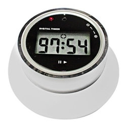 Kito - 3.25 Inch EZ Set Digital Timer with Time Adjust Knob and Magnetic Base - This gorgeous 3.25 Inch EZ Set Digital Timer with Time Adjust Knob and Magnetic Base has the finest details and highest quality you will find anywhere! 3.25 Inch EZ Set Digital Timer with Time Adjust Knob and Magnetic Base is truly remarkable.