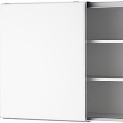 IKEA of Sweden - AKURUM Wall cabinet with sliding doors - Wall cabinet with sliding doors, white, Härlig white