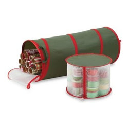 Real Simple - Real Simple Pop-up Gift Wrap & Ribbon Organizer - Real Simple Pop-Up Gift Wrap & Ribbon Organizer is easy to use and requires no tools for assembly. Sorts and organizes your holiday accessories seamlessly.