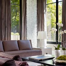 Contemporary Living Room by Rachel Laxer Interiors, LTD