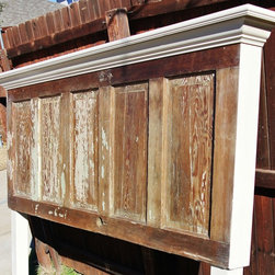 More Door Headboards - Vintage Headboards makes furniture using re-purposed materials.  The biggest core of our business is making old door headboards and new door headboards.  The prices for our products start as low as $125 and go up depending on the materials chosen for your headboard.  We also make tables and bench seats.  Please contact us at vintageheadboards@gmail.com or 972.668.2603 to place your order.
