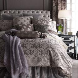"""Fino Lino Linen & Lace """"Charleston"""" Bed Linens -"""