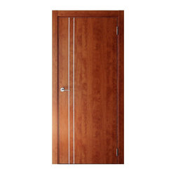 "Apple Lenia, Apple Oak, 24"" X 80"", Butterfly Hinges, Self-Assembly - Apple LENIA Interior Door"