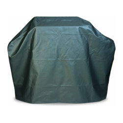 """Mr Bar B Q - Large Grill Cover - Mr. Bar-B-Q - Premium Flannel Lined Large Grill Cover - 68""""x21""""x42"""". Flannel protects the grills finish while vinyl exterior is weather resistant protecting from rain, sun, dirt and pollen."""