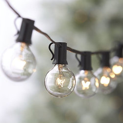 Globe String Lights - I think these lights would be a great addition to my first patio party of the season. A little sparkle always add such great ambience.