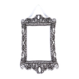 Working Class Studio - Puffy Frame - Rectangle - Black/White - Talk about a puff piece! This ingenious faux antique adds depth, dimension and a playful shot of whimsy to your wall. But don't be fooled by the lightweight feel — the frame has hidden tabs to hold your artwork securely.