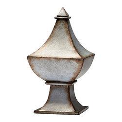 Cyan Design - Cyan Design Phoenix Finial Sculpture - Phoenix Finial Sculpture