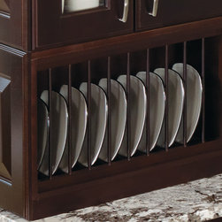 Kitchen Craft Plate Rack - Who says plates should live in a cabinet? Show them off in a fancy plate rack like this one from Kitchen Craft.