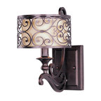 Maxim Lighting - Maxim Lighting 21152WHUB Mondrian 1-Light Wall Sconce - Maxim Lighting 21152WHUB Mondrian 1-Light Wall Sconce