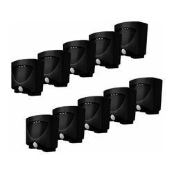 Maxsa Innovations - 10 Pack of Bronze Night Lights - Set of 10 night lights that are perfect outdoors for steps  walkways  keyholes and entry ways. Also great indoors for hallways  closets  bathrooms  and emergency basement lighting. 3 Bright LED lights automatically turn on when motion is detected. Installs with the included mounting bracket or simply stands on a flat surface. Uses 3 AA batteries (not included).  This item cannot be shipped to APO/FPO addresses. Please accept our apologies.