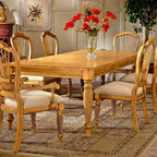 Hillsdale - Home Furniture Dining Chairs w Antique Pine F - Perfect for upscale bistros, restaurants and private dining and lounging spaces, you and your guests will savor this piece for years to come. In antique pine, these chairs bring to mind the refined style of French country. Finish your dining room with these stylish, and timeless, chairs. A gently flared back is both traditional and comfortable. These chairs look like a treasured antique, with the stability and durability of a newly constructed chair. * For residential use. These chairs look like a treasured antique, with the stability and durability of a newly constructed chair.. You will receive two chairs in a stunning antique pine finish.. Each chair is upholstered in a light cream on the seat, with luxurious padding for your comfort.. Finish your dining room with these stylish, and timeless, chairs.. Set of two chairs. Antique pine finish. 43.07H x 23.46W x 22.2D