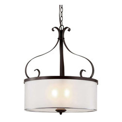 Trans Globe Lighting - Trans Globe Lighting 70388 ROB Pendant Light In Rubbed Oil Bronze - Part Number: 70388 ROB