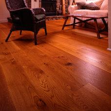 Traditional Hardwood Flooring by Heritage Wide Plank Flooring