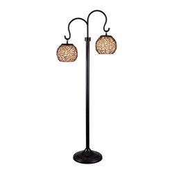Kenroy - Kenroy 32246BRZ Castillo Outdoor Floor Lamp - Kenroy 32246BRZ Castillo Outdoor Floor Lamp