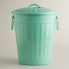 Contemporary Kitchen Trash Cans by Cost Plus World Market