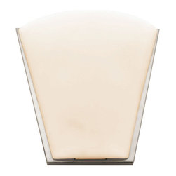 Access Lighting - Access Lighting 20422 Two Light Up Lighting Wall Sconce from the Artemis Collect - Two light up lighting wall sconce featuring opal glassRequires 2 60w Candelabra Base Bulbs (Not Included)