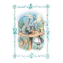 Buyenlarge - Alice in Wonderland: Advice from a Caterpillar 28x42 Giclee on Canvas - Series: Alice in Wonderland