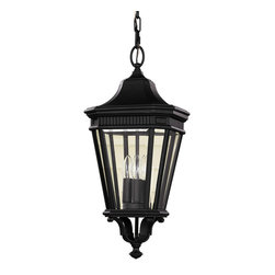 Feiss - Feiss OL5411BK Cotswold Lane Black Outdoor Lantern - Feiss OL5411BK Cotswold Lane Black Outdoor Lantern