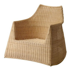 HEJKA Rocking chair - Rocking chair, rattan