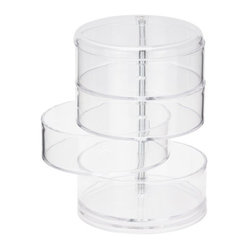Fab 4-Tier Jewelry Tower, Clear