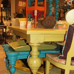 Dining & Occasional Tables - Dining & Occasional Tables - Steven Shell custom products.