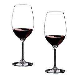 Riedel - Riedel Wine Syrah/Shiraz Glasses - Set of 2 - Non lead, machine made. Recommended for: Amarone, Barbera, Blaufrnkisch, Carmenre, Chteauneuf du Pape, Cornas, Cte Rtie, Grozes Hermitage, Grenache, Hermitage, Malbec, Mourvdre, Petite Sirah, Pinotage, Priorato, Saint Joseph, Shiraz, Syrah, Tannat.