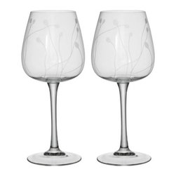 P Amsell/B Wesslander - SKIR Wine glass - Wine glass, clear glass