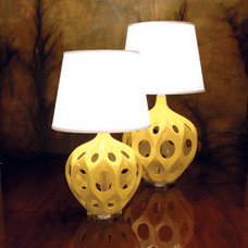 Eclectic Table Lamps by kennethwingard.com