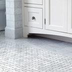 Basket Weave Floor Tile - Architect: Sabrina Foulke