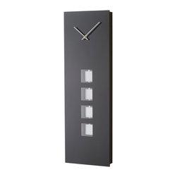 Nova Lighting - Nova Lighting 3710182 Anthracite Pendulum Wall Clock - Nova Lighting 3710182 Anthracite Pendulum Wall Clock