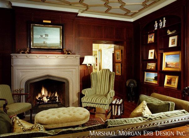 Traditional Living Room by Marshall Morgan Erb Design Inc.