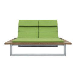 Icon Teak Double Sunlounger - About the Icon Collection:
