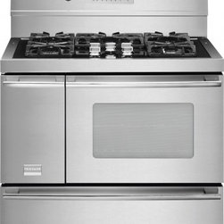 """Frigidaire - Professional Series FPDF4085KF 40"""" Freestanding Dual Fuel Range with 5 Sealed Bu - Frigidaire is the brand you have come to know and trust And for good reason Year after year Frigidaire has been the most reliable brand among leading appliance brands with the lowest number of service calls With Frigidaire you can be sure youll recei..."""