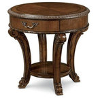 Newberry Round Coffee Table Traditional Coffee Tables By Pottery Barn