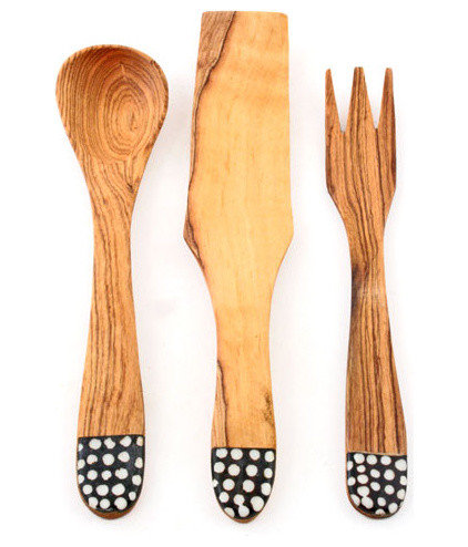 contemporary serving utensils by LEIF