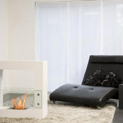 Bio-Blaze Qube Small - The Bio-Blaze Qube Small do not require any fuel or electricity for it to operate. It should be installed in a well-ventilated room such as living room, dining room, veranda or sitting room. It is sold in kit which includes lever extinguisher, lighter, funnel and security/assembly instructions.