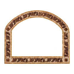 Landmark Metalcoat - Landmark Metalcoat Mosaic Mirror Frame Venito, Bronze Highlight Polish - All Landmark Metalcoat products are made to order. lead time 3 -5 weeks. Proudly made in the USA. Mesh mounted for easy installation.