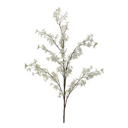 Silk Plants Direct - Silk Plants Direct Apple Blossom (Pack of 6) - White - Pack of 6. Silk Plants Direct specializes in manufacturing, design and supply of the most life-like, premium quality artificial plants, trees, flowers, arrangements, topiaries and containers for home, office and commercial use. Our Apple Blossom includes the following: