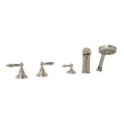 American Standard - American Standard 9FHS-CH Polished Chrome  Roman Tub Filler with Hand - Roman Tub Filler with Hand Spray