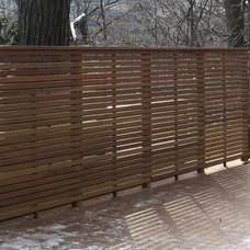 Contemporary Landscape by Forest Fence & Deck Co Ltd.