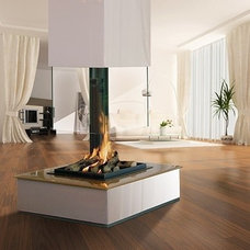contemporary fireplaces by The Open Fire Centre